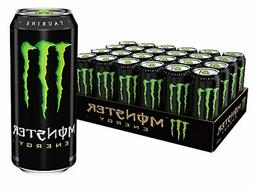 Monster Energy Drink, 16-Ounce Cans  - Free Shipping