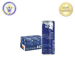 Red Bull Energy Drink, Blueberry, 24 Pack of 8.4 Fl Oz, Blue