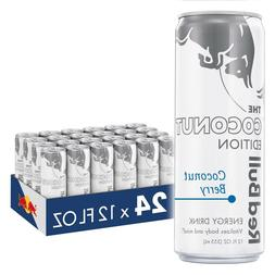 Red Bull Energy Drink Coconut Berry 24 Pack of 12 Fl Oz Coco