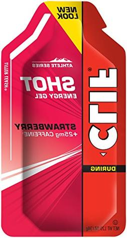 Clif Energy Gel Shot Strawberry -- 24 Packets