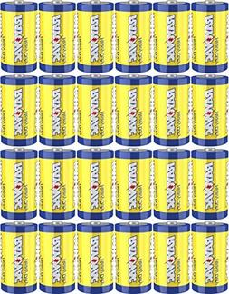 Rayovac Heavy Duty Batteries, Size C, 24-Pack by Rayovac
