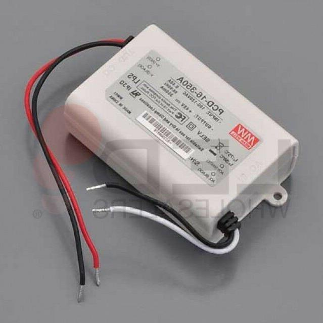 16-Watt 350mA Constant Current Dimmable LED Driver Power Sup