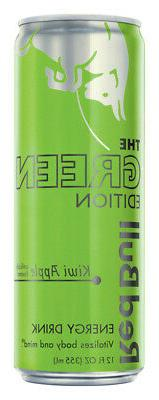 Red Bull  The Green Edition  Kiwi Apple  Energy Drink  12 oz
