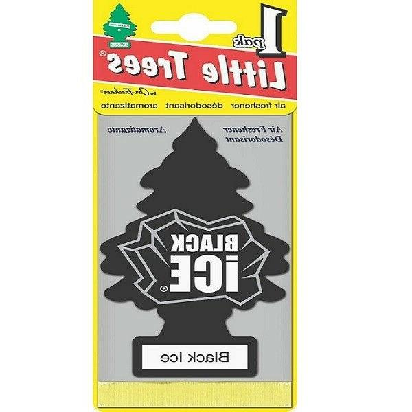 Little Trees Black Tree Air Scent 12-24-48-96-144 Pack.