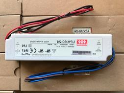 MEANWELL LED DRIVER LPV-60-24 CLASS 2 POWER SUPPLY