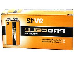 Duracell Procell 9 Volt Batteries Long Lasting Professional