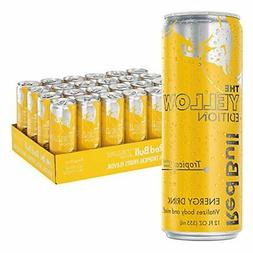 Red Bull Yellow Edition, Tropical Energy Drink, 12 Fl Oz Can